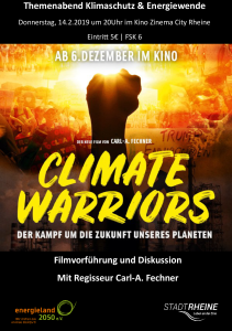 Einladung climate warriors